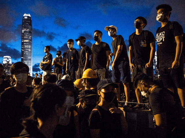 Image result for hong kong black shirts""