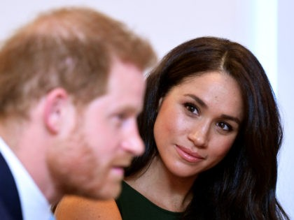 LONDON, ENGLAND - OCTOBER 15: Prince Harry, Duke of Sussex and Meghan, Duchess of Sussex attend the WellChild awards pre-Ceremony reception at Royal Lancaster Hotel on October 15, 2019 in London, England. (Photo by Toby Melville - WPA Pool/Getty Images)