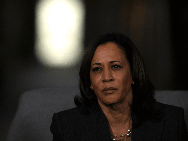 Democratic presidential candidate, U.S. Sen. Kamala Harris (D-CA) speaks during a town hall at the Eastern State Penitentiary on October 28, 2019 in Philadelphia, Pennsylvania. Formerly incarcerated individuals, their families, and others involved with the criminal justice system hosted the town hall with three 2020 Democratic presidential candidates. (Photo by …