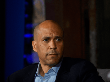 Democratic presidential candidate, U.S. Sen. Cory Booker (D-NJ) speaks during a town hall at the Eastern State Penitentiary on October 28, 2019 in Philadelphia, Pennsylvania. Formerly incarcerated individuals, their families, and others involved with the criminal justice system hosted the town hall with three 2020 Democratic presidential candidates. (Photo by …