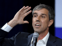 Democratic presidential candidate, former U.S. Rep. Beto O'Rourke (D-TX) speaks during the 2020 Gun Safety Forum hosted by gun control activist groups Giffords and March for Our Lives at Enclave on October 2, 2019 in Las Vegas, Nevada. Nine Democratic candidates are taking part in the forum to address gun …
