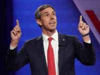 Democratic presidential candidate former U.S. Rep. Beto O'Rourke (D-TX) speaks at the Human Rights Campaign Foundation and CNN presidential town hall focused on LGBTQ issues on October 10, 2019 in Los Angeles, California. It is the first Presidential event broadcast on a major news network focused on LGBTQ issues. (Photo …