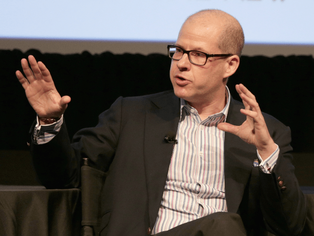 Author Max Boot speaks onstage during The New Yorker Festival 2016 - 'President Trump: Life As We May Know It,' featuring Max Boot, Amy Davidson, Roger Stone, and Sean Wilentz in conversation with Evan Osnos at MasterCard Stage at SVA Theatre on October 8, 2016 in New York City. (Photo …