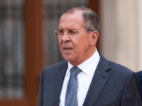 Russian Foreign Minister Sergei Lavrov is seen ahead of Russian President Vladimir Putin arrival at Hofburg palace on June 5, 2018 in Vienna, Austria. Putin is in Vienna to commemorate the 50th anniversary of the completion of a pipeline that transports Russian gas to Europe.