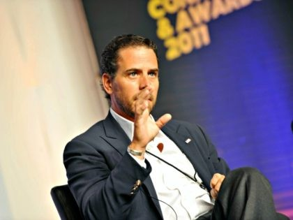 ATLANTA, GA - JULY 22: Hunter Biden attends Usher's New Look Foundation - World Leadership Conference & Awards 2011 - Day 3 at Cobb Energy Center on July 22, 2011 in Atlanta, Georgia. (Photo by ATLANTA, GA - JULY 22: Hunter Biden attends Usher's New Look Foundation - World Leadership …