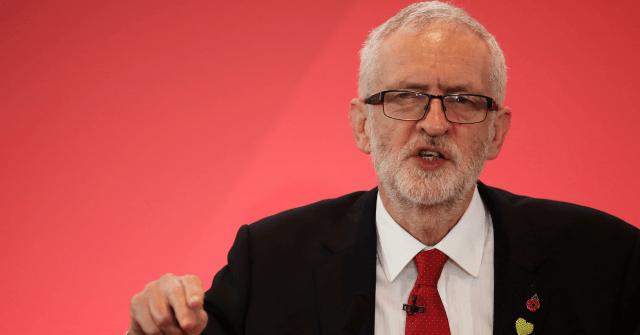 Far-Left Corbyn Confirms Plans for Second EU Referendum in Election Speech