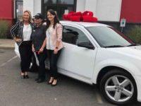 KFC lachance wins a car