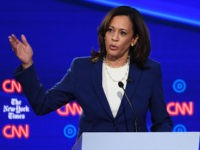 Kamala Harris: Trump 'Most Unpatriotic President Ever'