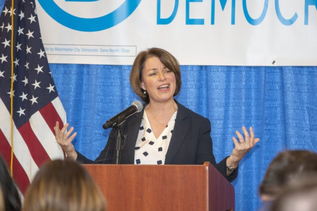 Presidential Candidates Attend Manchester City Democrats' Countdown To Victory Dinner In New Hampshire
