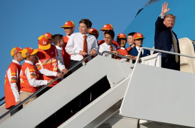 Louisiana Little League World Series team flies back on Air Force One