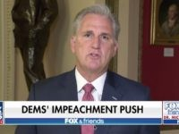 Kevin McCarthy on FNC, 10/30/2019