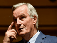 European Union's chief Brexit negotiator Michel Barnier looks on during a meeting in Luxembourg on 15 October 2019. (Photo by John THYS / AFP) (Photo by JOHN THYS/AFP via Getty Images)