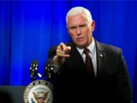 Exclusive — Pence: Pelosi Has Made 'Unconscionable' 'Surrender to Mob'