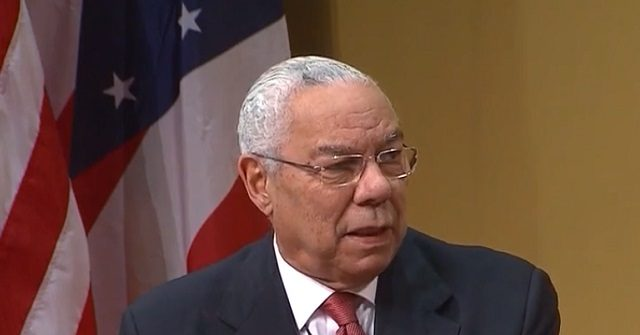 Colin Powell: 'Foreign Policy Is in Shambles' Under Trump