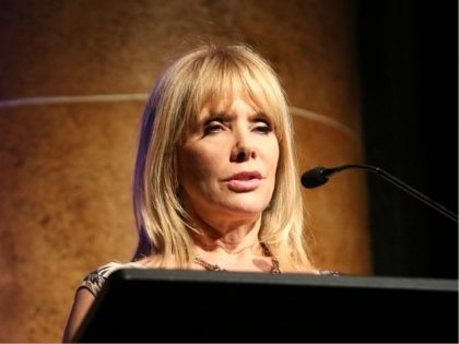 SARASOTA, FL - APRIL 08: Actress Rosanna Arquette speaks on stage at the closing night ceremony and screening of 'Paris Can Wait' during the 2017 Sarasota Film Festival on April 8, 2017 in Sarasota, Florida. (Photo by Aaron Davidson/Getty Images for Sarasota Film Festival)