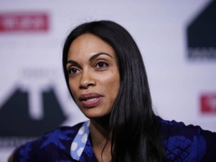 Photo by: John Nacion/STAR MAX/IPx 2018 9/22/18 Rosario Dawson at the Tribeca Talks Panel during the 2018 Tribeca TV Festival in New York City.