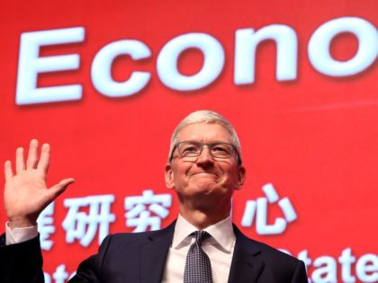 Tim Cook, Apple CEO, in China