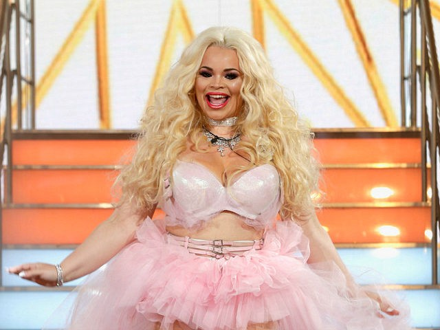 BOREHAMWOOD, ENGLAND - AUGUST 01: Trisha Paytas enters the Big Brother House for the Celebrity Big Brother launch at Elstree Studios on August 1, 2017 in Borehamwood, England. (Photo by John Phillips/Getty Images)