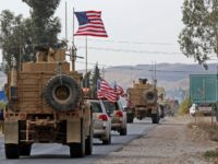 Video: Kurds Throw Tomatoes at Withdrawing U.S. Troops in Syria