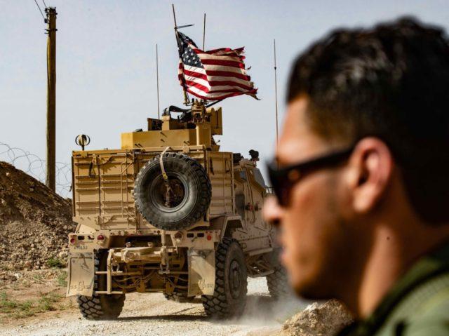 U.S. troops Syria (Delil Souleiman / AFP / Getty)