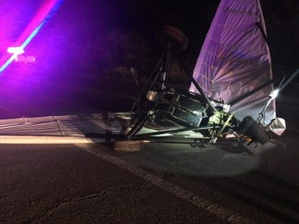 Tucson Sector CBP officials seize an ultralight aircraft used to fly illegally over the U.S.-Mexico border. (Photo: U.S. Customs and Border Protection/Tucson Sector)