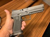 """We recently got our hands on a Sig Sauger P320 XFive Legion 9mm and the one word that sums up our initial shooting experience with the pistol is """"Wow!"""""""