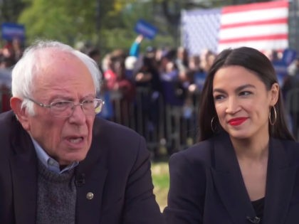Sanders: Alexandria Ocasio-Cortez Will Work in My Administration