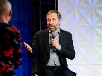 LOS ANGELES, CALIFORNIA - JANUARY 22: Judd Apatow speaks onstage at the 3rd annual National Day of Racial Healing at Array on January 22, 2019 in Los Angeles, California. (Photo by Emma McIntyre/Getty Images)
