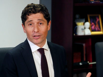 Minneapolis Mayor Jacob Frey, who is Jewish, told reporters after his budget address Thursday, Aug. 15, 2019 in Minneapolis that Israel should not ban Rep. Ilhan Omar, D-Minn. from visiting that country. Israel said Thursday that it will bar Omar and Rep. Rashida Tlaib of Michigan from entering the country …
