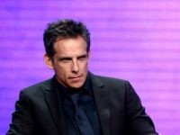 """BEVERLY HILLS, CA - AUGUST 06: (L-R) Executive producer/director Ben Stiller and actor Patricia Arquette from """"Escape at Dannemora"""" speak onstage at the Showtime Network portion of the Summer 2018 TCA Press Tour at The Beverly Hilton Hotel on August 6, 2018 in Beverly Hills, California. (Photo by Frederick M. …"""