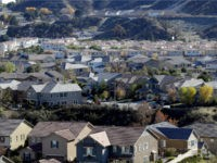 A subdivision of homes are stacked up Friday, Dec. 21, 2018, in Santa Clarita, Calif. California's population grew by 215,000 people but is still shy of 40 million, the state announced Friday. (AP Photo/Marcio Jose Sanchez)