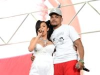 INDIO, CA - APRIL 15: Cardi B (L) and Chance the Rapper perform onstage during the 2018 Coachella Valley Music and Arts Festival Weekend 1 at the Empire Polo Field on April 15, 2018 in Indio, California. (Photo by Kevin Winter/Getty Images for Coachella)