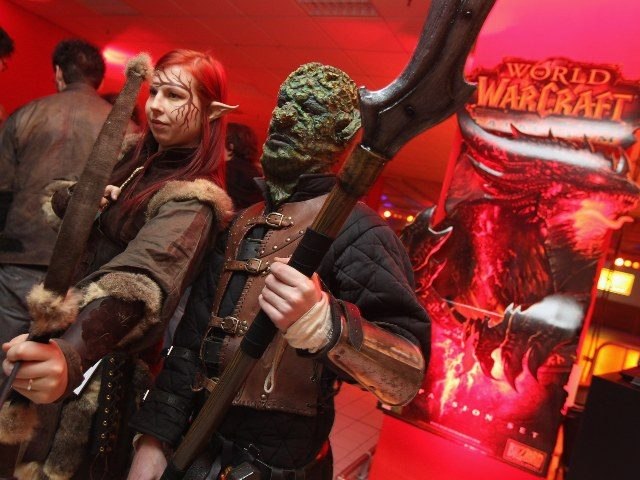 cosplayers from Blizzard's World of Warcraft