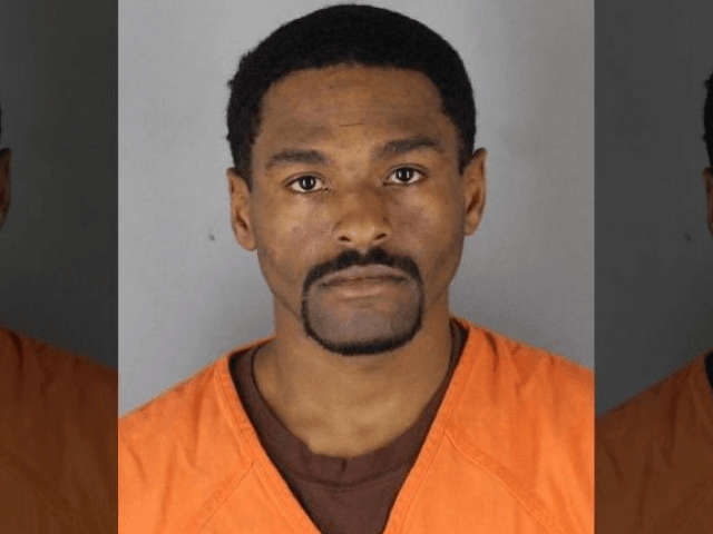 Dwight Pierre Lewis, 31, of Richfield, Minn., is accused of punching a Trump supporter outside a Minneapolis rally, resulting in stitches for the victim, authorities say. (Hennepin County District Attorney)
