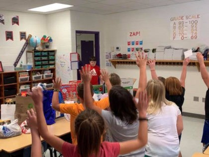 elementary school surprise