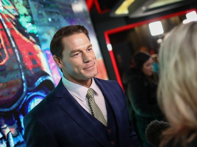 LONDON, ENGLAND - DECEMBER 05: John Cena attends a special screening of Paramount Pictures' film 'Bumblebee' at Cineworld Leicester Square on December 5, 2018 in London, United Kingdom. (Photo by John Phillips/Getty Images for Paramount Pictures)