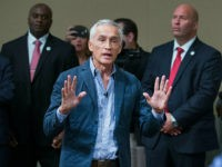 DUBUQUE, IA - AUGUST 25: Republican presidential candidate Donald Trump fields a question from Univision and Fusion anchor Jorge Ramos during a press conference held before his campaign event at the Grand River Center on August 25, 2015 in Dubuque, Iowa. Earlier in the press conference Trump had Ramos removed …