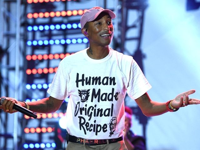 MIAMI, FL - DECEMBER 08: Pharrell Williams performs onstage during the American Express Platinum House At The 1 Hotel South Beach at 1 Hotel South Beach on December 6, 2018 in Miami, Florida. (Photo by Dimitrios Kambouris/Getty Images for American Express)