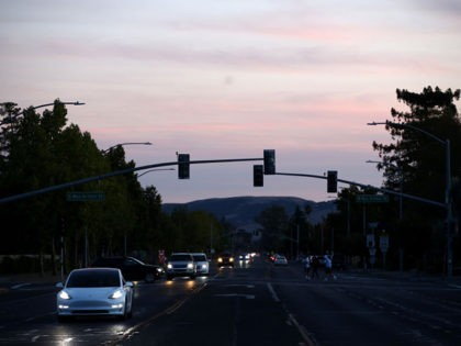 SONOMA, CALIFORNIA - OCTOBER 10: Traffic lights in the Sonoma area are out due to power outages on October 10, 2019 in Sonoma, California. Power outages were scheduled as preemptive moves by PG&E to address hot, dry and windy weather and the risk of wildfires, according to the company. (Photo …