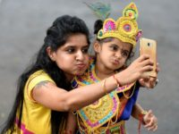 selfie in India