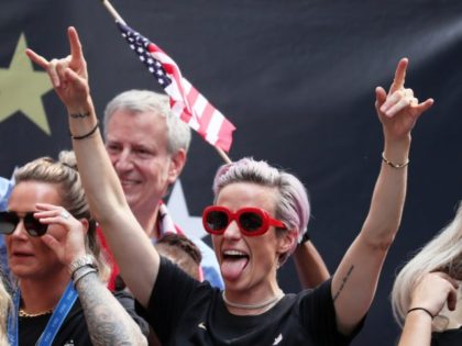 Trump Critic Megan Rapinoe Makes BBC's List of 100 Inspiring and Influential Women