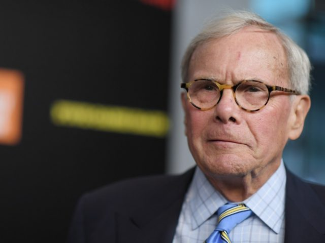 "NEW YORK, NY - MARCH 27: Tom Brokaw attends the ""Five Came Back"" world premiere at Alice Tully Hall at Lincoln Center on March 27, 2017 in New York City. (Photo by Mike Coppola/Getty Images)"