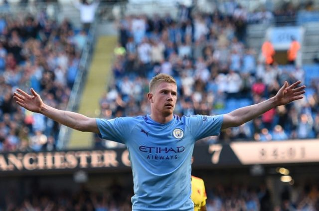 De Bruyne sidelined by groin injury