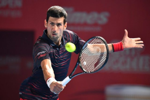 Djokovic quickly tops Pouille, makes Japan semis