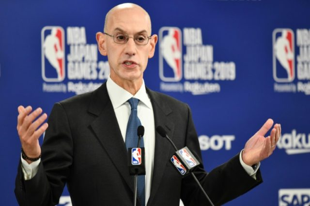Punishment awaits NBA's commissioner for defaming China: state media