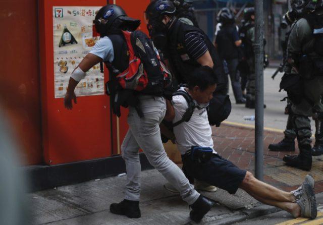 Hong Kong Students Decry Police Shooting Of Teen Protester