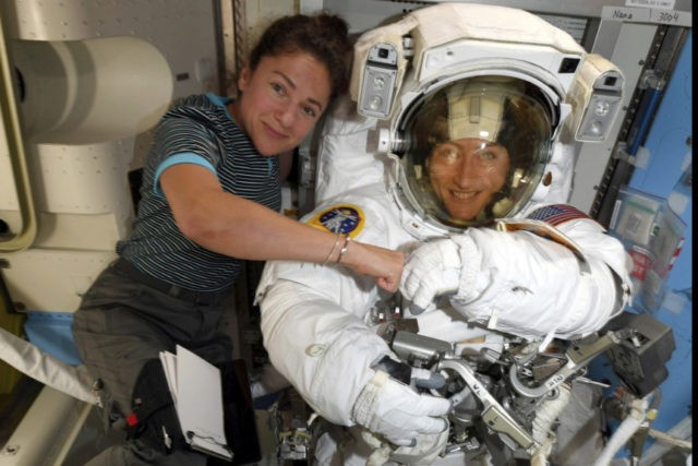 NASA moves up 1st all-female spacewalk to fix power unit ...
