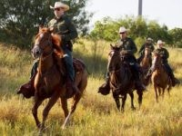 Horse Patrol agents work the ranches along the Texas border with Mexico. (File Photo: .S. Border Patrol/Donna Burton)