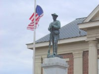 Confederate monument, Chatham Courthouse