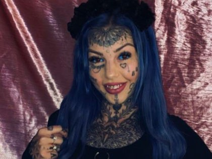VIDEO: Woman Covered in Tattoos Says She Went Blind After Having Eyes Inked Blue